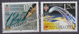 Bosnia Herzegovina - Serbia 1999 Yvert 150-51 150th Ann. UPU - MNH