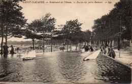 44 SAINT-NAZAIRE  Boulevard De L'Océan  Bassin Des Petits Bâteaux - Saint Nazaire
