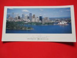 Air Mail Postcard-Sydney Harbour - Sydney