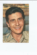 GILBERT BECAUD CARTE AVEC AUTOGRAPHE - Autographs