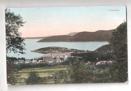 CANADA Tadousac Quebec~Bird's Eye View From Hilltop~Homes Below~1910 Postcard - Quebec