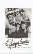 JACQUES COURTOIS AUTOGRAPHE - Autographs