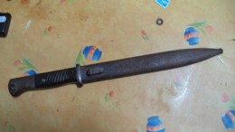 Baionette-bayonette-bayo-  Mauser- Fourreau -datee38--eu Horster  Voir Scans - Armes Blanches