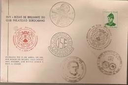 Brazil & FDC 75th Anniversary Of Philatelic Club Of Sorocaba, Sorocaba, 1971 (817)