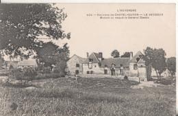 63  Le Veygoux Environs De Chatel-guyon  Maison Ou Naquit Le General Desaix - Francia