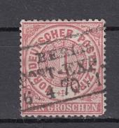 "NDP Norddeutscher Postbezirk 1 Groschen 1861 - Schöner Ra3 ""Berlin Stadt-Post-Exp."""