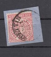 """NDP Norddeutscher Postbezirk  1 Groschen 1869 - """"Stettin E.K.S. 3"""" Großer 1 Kreis"""