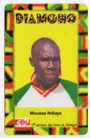 SENEGAL PREPAYEE SONATEL ALIZE 5 000 FCFA MOUSSA NDIAYE - Sénégal