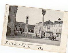 ROVIGO Piazza Vittorio Emanuele Viaggiata 1903 - Rovigo