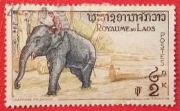 LAOS N° 47 (o)   ELEPHANT