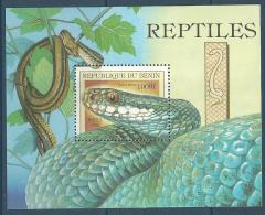 "Benin Bloc YT 57 "" Tête De Serpent "" 1999 Neuf** - Benin - Dahomey (1960-...)"