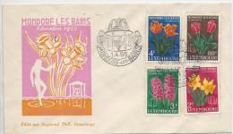 Mondorf Les Bains, Floralies 1955 Fleurs