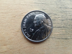 Congo  Rd  1  Franc  2004  Pape Jean-paul Ii  Km 158 - Congo (Democratic Republic 1998)