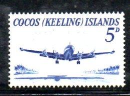 T1094 - COCOS ,  Yvert N. 2  * - Isole Cocos (Keeling)