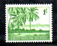 T1097 - COCOS ,  Yvert N. 4  * - Isole Cocos (Keeling)