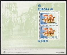Açores - Bloc Feuillet - 1981 - Yvert N° BF 2 **  - Europa