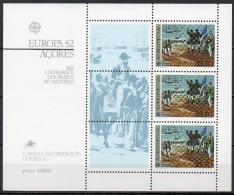 Açores - Bloc Feuillet - 1982 - Yvert N° BF 3 **  - Europa