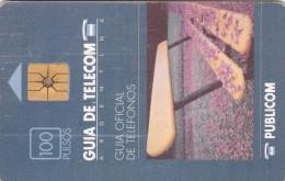 Argentina, Card Number 007, As On Photos, Guia Oficial De Telafonos, 2 Scans. - Argentina