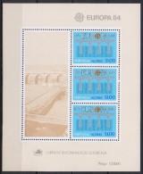 Açores - Bloc Feuillet - 1984 - Yvert N° BF 5 **  - Europa