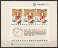 Açores - Bloc Feuillet - 1985 - Yvert N° BF 6 **  - Europa