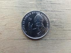 Congo  Rd  1  Franc  2004  Pape Jean-paul Ii  Km 159 - Congo (Democratic Republic 1998)