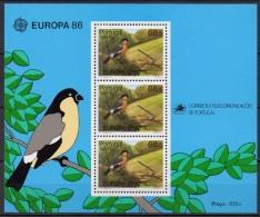 Açores - Bloc Feuillet - 1986 - Yvert N° BF 7 **  - Europa