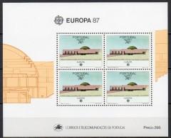 Açores - Bloc Feuillet - 1987 - Yvert N° BF 8 **  - Europa