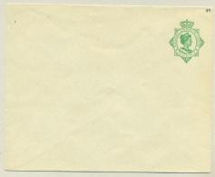 Nederlands Indië - 1919 - 20 Cent Wilhelmina In Ovaal, Envelop G44 - Ongebruikt - Niederländisch-Indien