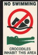 No Swimming - Crocodiles - Non Classés