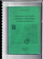 CATALOGUE DES CACHETS COURRIERS CONVOYEURS STATIONS DE FRANCE POTHION 1988 SPIRALE A4    /  500 - France