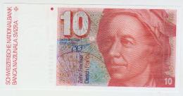 Switzeland 10 Francs 1983 Pick 53e UNC - Suiza