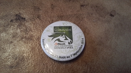 1 Badge  Normandie Jeux Equestres Mondiaux - Altri