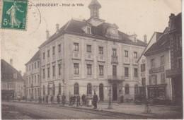 HERICOURT : Hotel De Ville . ( Vue Sur Magasin Jardinier , Fleuriste ) - Andere Gemeenten