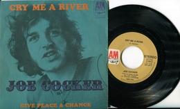 "Joe Cockers""45t VinyleCry Me A River"" - Disco, Pop"