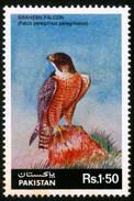 1986 Pakistan Wildlife Series - Shaheen Falcon (1v) MNH (PK-34)