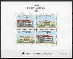 Açores - Bloc Feuillet - 1990 - Yvert N° BF 11 **  - Europa