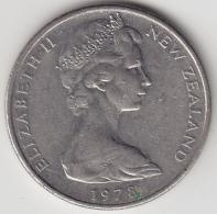 @Y@    10 Cents  Nieuw Zeeland   1978    (3332) - Nieuw-Zeeland