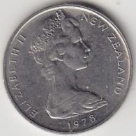 @Y@    5 Cents  Nieuw Zeeland   1978    (3333) - Nieuw-Zeeland