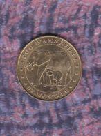 Monnaie De Paris :  Zoo D'Amnéville Les Elephants - 2000 - Monnaie De Paris