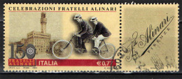ITALIA - 2003 - FRATELLI ALINARI - USATO - 1946-.. Republiek