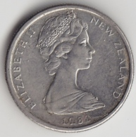 @Y@    5 Cents  Nieuw Zeeland   1982    (3336) - Nieuw-Zeeland