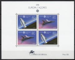 Açores - Bloc Feuillet - 1991 - Yvert N° BF 12 **  - Europa