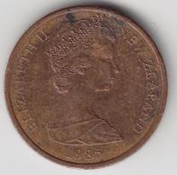 @Y@    2 Cents  Nieuw Zeeland   1985    (3338) - Nieuw-Zeeland