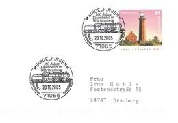 Stamp Exhibition Sindelfingen 2005     Germany.  H-862