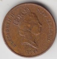 @Y@    1 Cents  Nieuw Zeeland   1986    (3339) - Nieuw-Zeeland