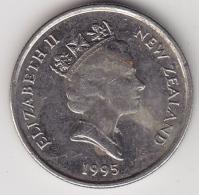 @Y@    5 Cents  Nieuw Zeeland   1995    (3340) - Nieuw-Zeeland
