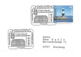 Stamp Exhibition Sindelfingen 2005     Germany.  H-864