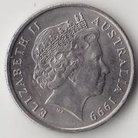 @Y@    5 Cents  Australië    1999    (3335) - Zonder Classificatie