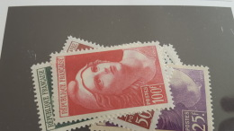 LOT 328898 TIMBRE DE FRANCE NEUF** N°725 A 733 VALEUR 47 EUROS