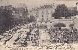 Lausanne - Marché De La Riponne - 1905    (P8-40308) - VD Vaud